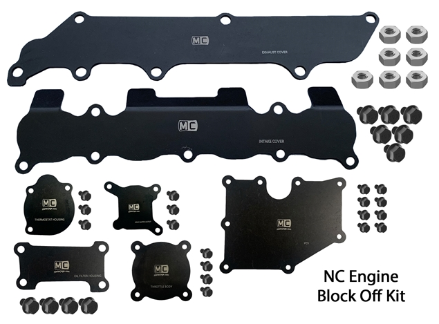 Picture of NC Engine Block Off Plate Kit